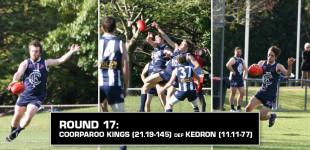 Round 17: Coorparoo vs Kedron