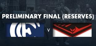 Preliminary Final - Reserves vs Burleigh