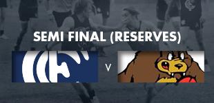 Semi Final - Reserves vs Kenmore